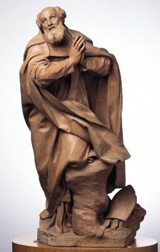 Saint François de Sales en prière