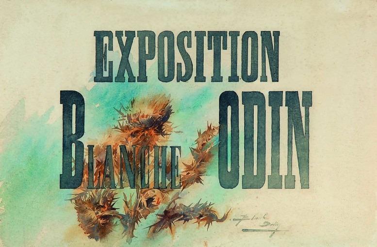 Exposition B.O avec chardons