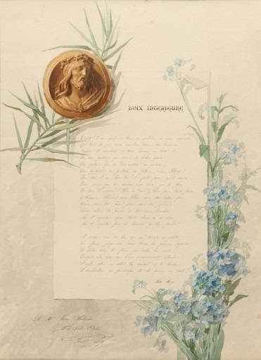 Poème Victor Hugo – Illustré de Myosotis