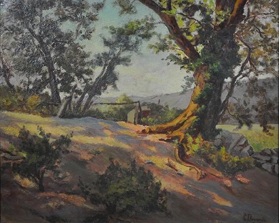 Paysage avec arbre