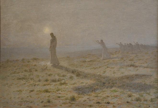 Christ et ses disciples