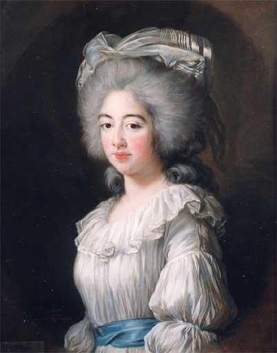 Portrait de Joséphine de Savoie, comtesse de Provence