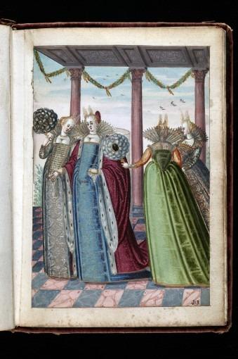 La dogaressa avec trois dames.