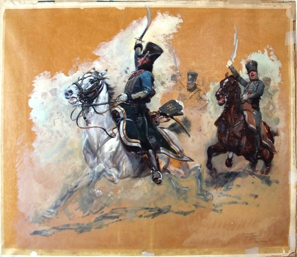 Charge de Hussards 1812-1815