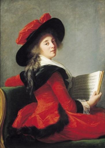 Portrait de la Baronne de Crussol