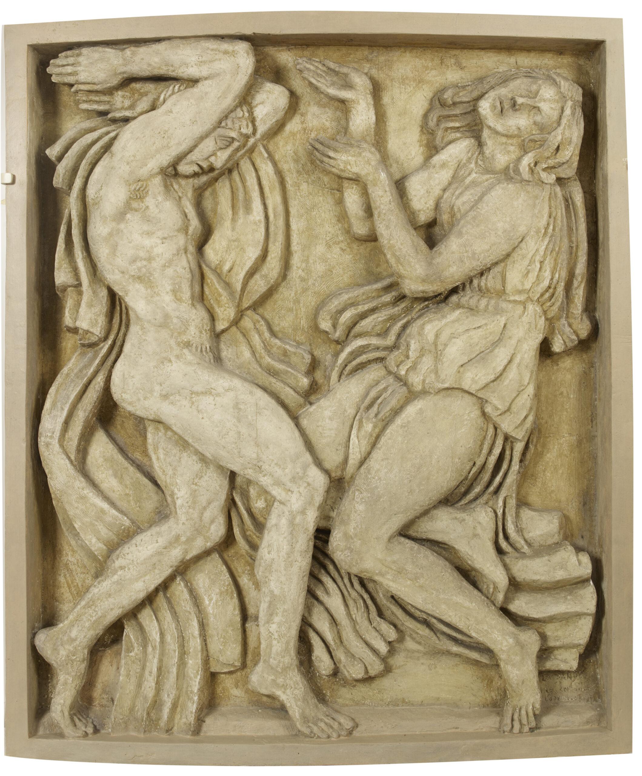 Bas reliefs du théâtre des champs Elysées