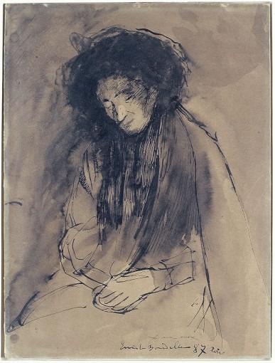 Portrait de la mère de Bourdelle
