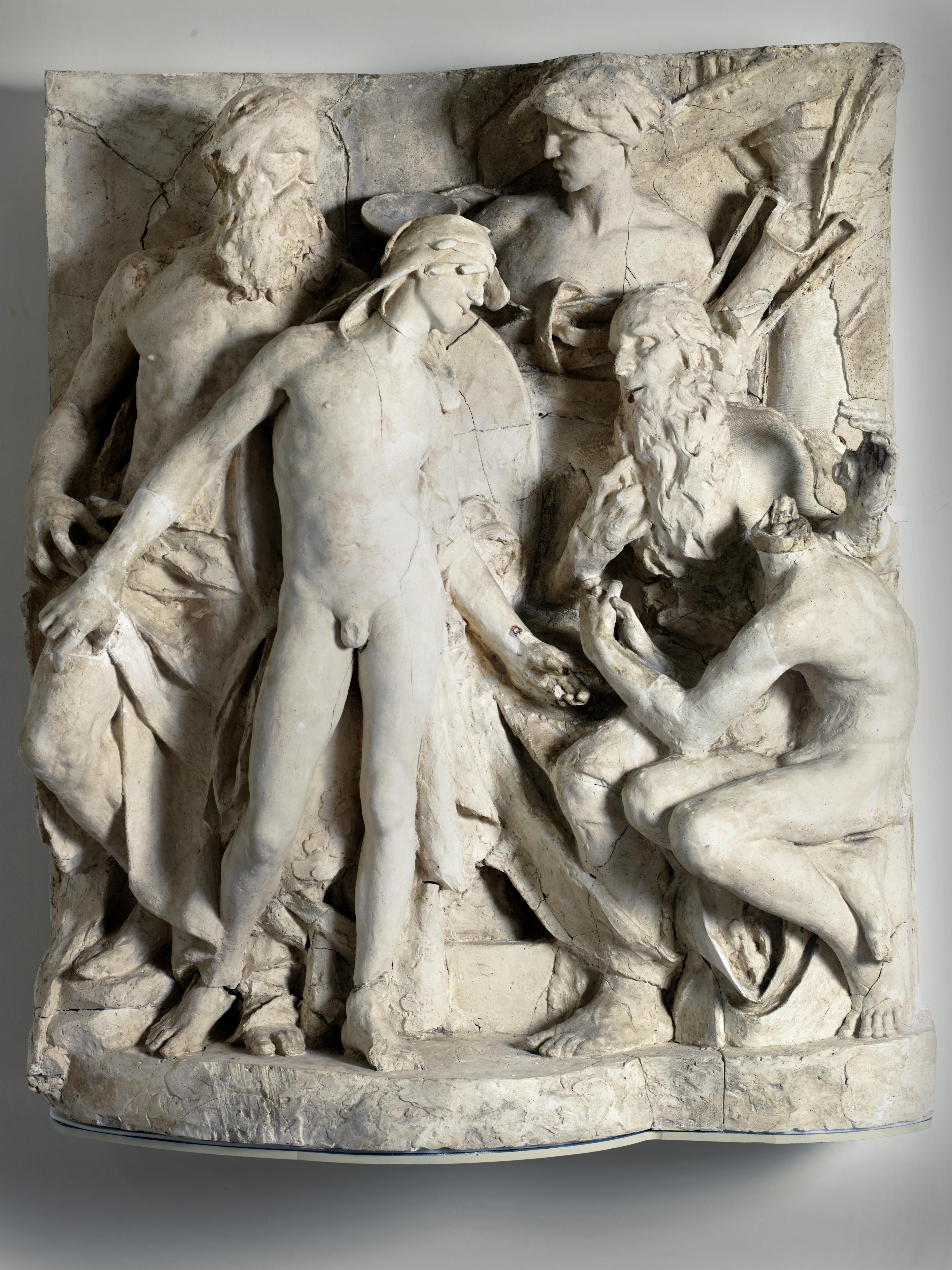 Télémaque reçu à Pilos par Nestor