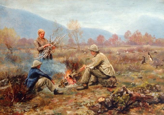 Les bergers Savoyards