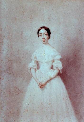 Pauline Garcia jeune fille (Mme VIARDET)