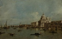 L'église Santa Maria della Salute à Venise
