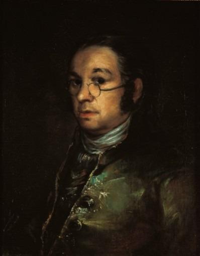 Autoportrait aux lunettes