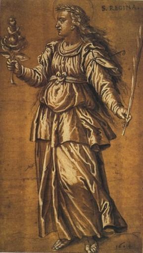 Sainte Régine d'Alésia
