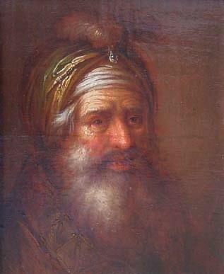 L'Oriental au turban