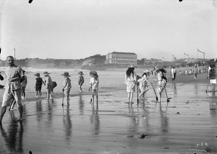Biarritz, la grande plage