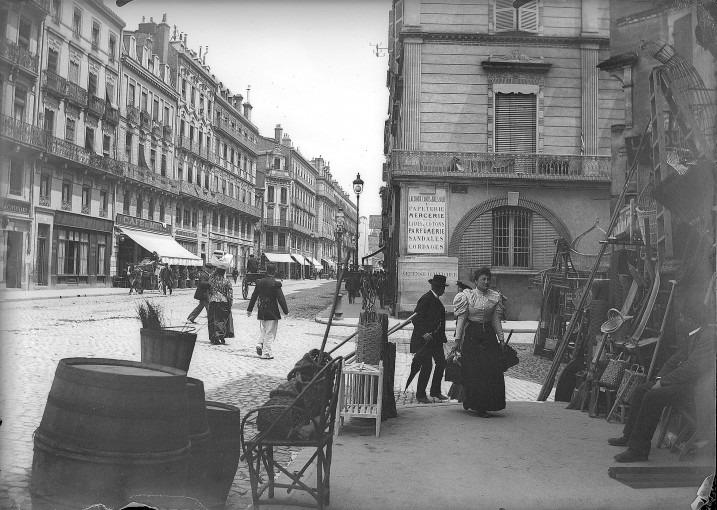 L'entrée de la rue de Metz