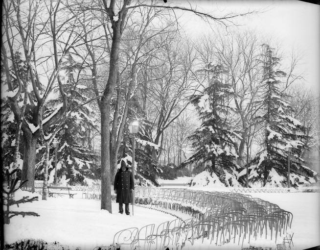 La neige au Grand-Rond