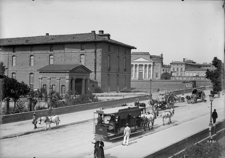 Le Pont-Neuf et l'hôpital