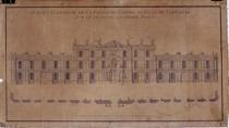 Projet d'une façade pour le Capitole