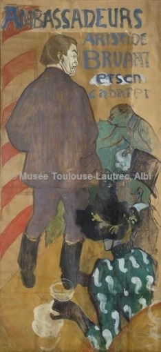 Ambassadeurs, Aristide Bruant et son cabaret