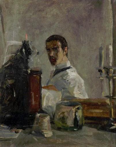Autoportrait, 1880