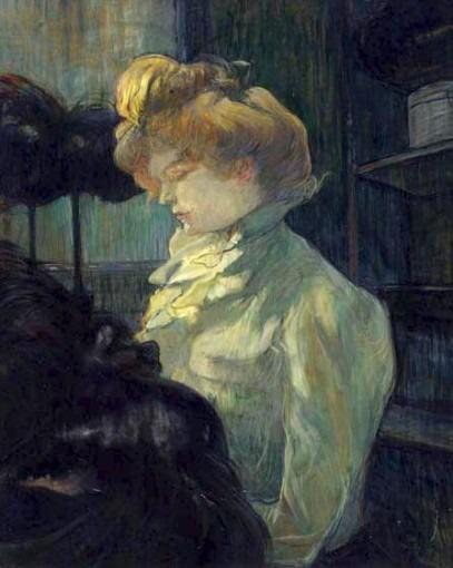 La modiste (Mademoiselle Louise Blouet d'Enguin)