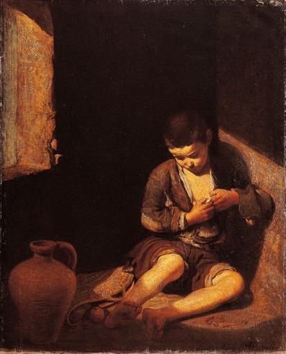 Le Jeune mendiant d'après Murillo