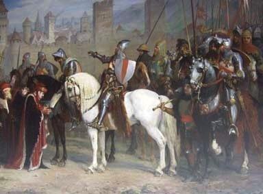 Prise de la ville de Cahors par les Anglais