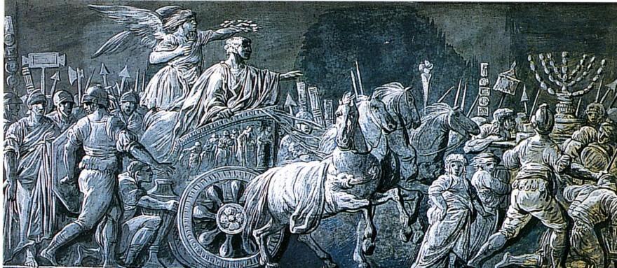 Le triomphe de Titus.