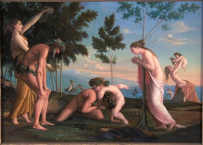 l'Enfance de Bacchus
