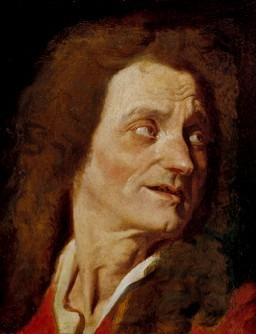L'Apothéose d'Homère : Tête de Boileau