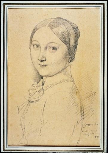 Portrait d'Aline Desgoffe