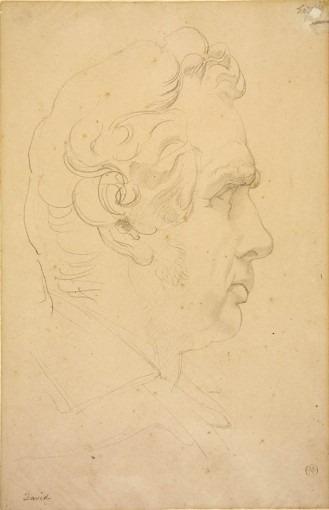 Portrait de Jacques-Louis David