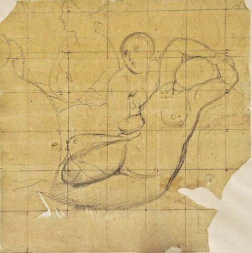 Quatre Femmes (étude pour Le Bain Turc)