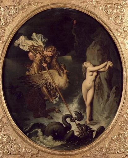 Roger délivrant Angélique