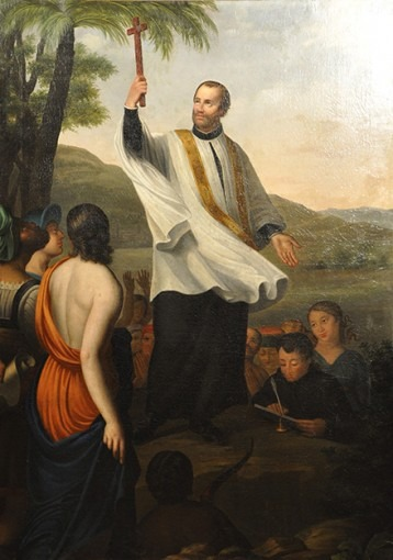 Prêche de saint François-Xavier