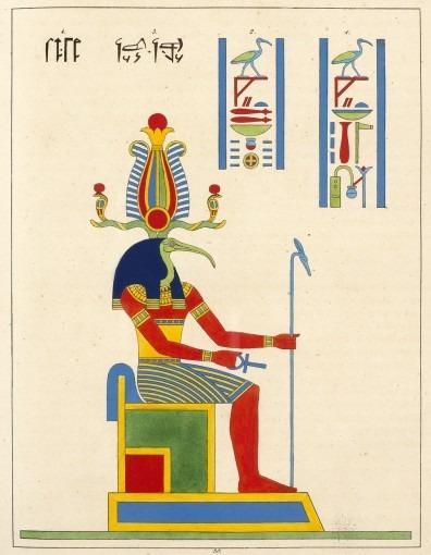 Panthéon égyptien, collection des personnages mythologiques de l'ancienne Égypte