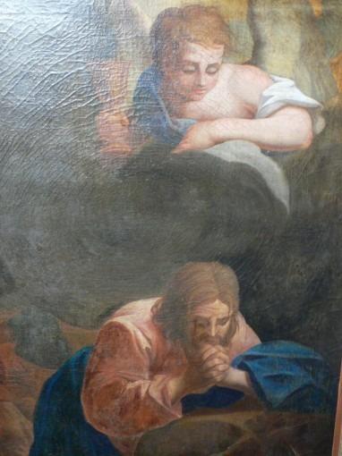 Christ en prière au jardin des Oliviers