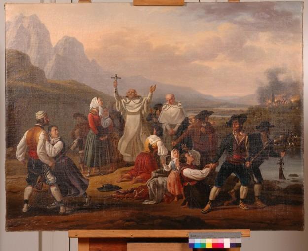 Episode de la guerre d'Espagne