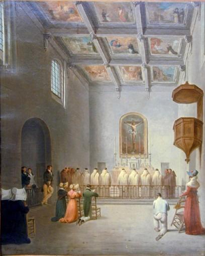 L'intérieur de la chapelle de l'Inquisition