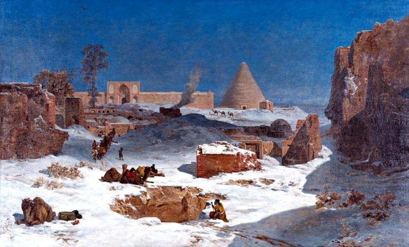 L'hiver en Perse