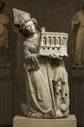 Jean Tissendier, évêque de Rieux-Volvestre (1324-1348) figuré en donateur de la chapelle dite de Rieux