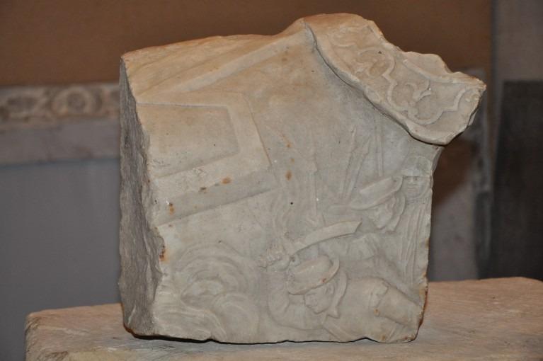 Fragment du mausolée de Hector de Gélas, Baron d'Ambres