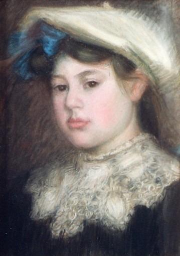 Portrait d'Odette Loubat