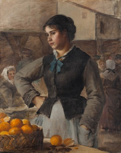 Marchande d'oranges