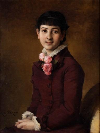 Portrait de Louise Bonnel