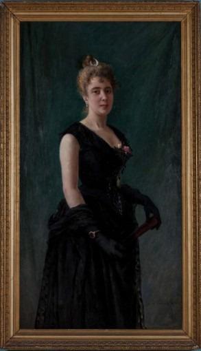Portrait de Madame M. F.