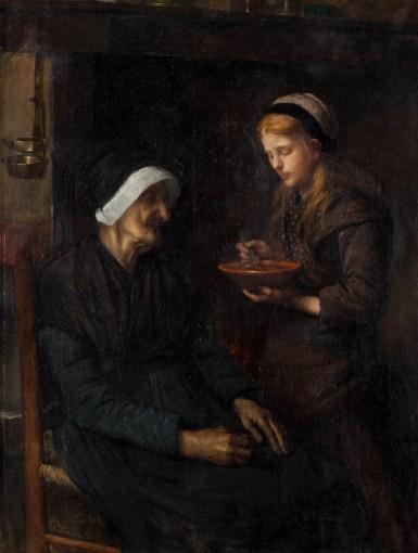 Repas de la grand-mère