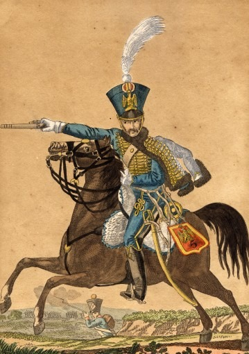 Cavalier du 5ème Hussards