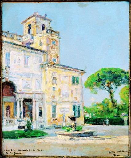 La Villa Médicis, Rome